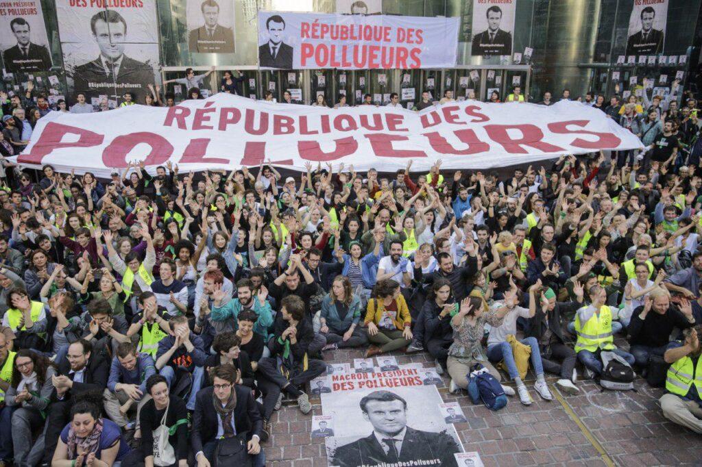 Bloquons la République pollueurs